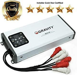 Gravity Gbr300.4dm Digital 4-Channel Full Range Amplifier