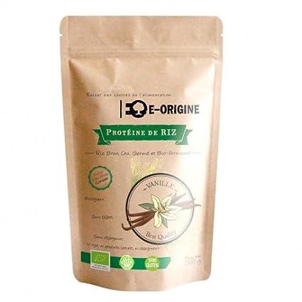 Eden origen – Proteína de arroz vainilla 100% Vegan & Bio