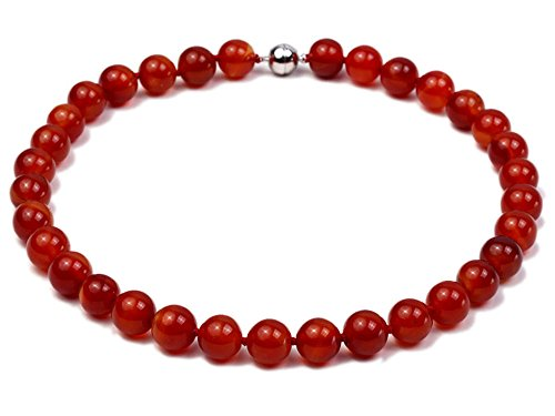 Red Agate Gemstone Necklace - 7
