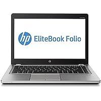 2017 HP 14 HD Premium Flagship Business Ultrabook Laptop Computer, Intel Dual Core i7-3687U 2.1GHz CPU, 8GB RAM, 128GB SSD, VGA, DisplayPort, Webcam, Windows 10 Professional (Certified Refurbished)