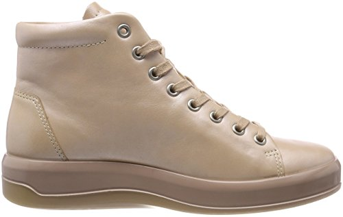Collo Sneaker Ecco Alto Donna A Soft Beige powder 9 vw7vO4I