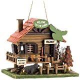 Woodland Cabin Bird House