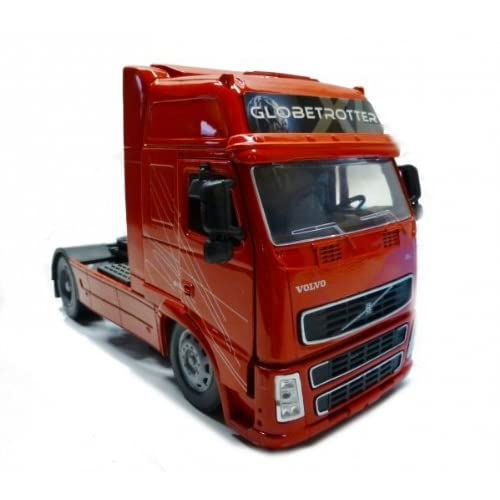 New Ray, Véhicule miniature, TRACTEUR CAMION 1/32° VOLVO FH GLOBE TROTTER XL ROUGE 810076 10843H