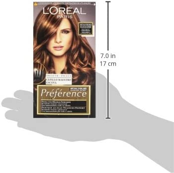 LOréal Préférence Mechas Sublimes Prefrerence, Tono: 004 Brown to Light Brown - 225 g