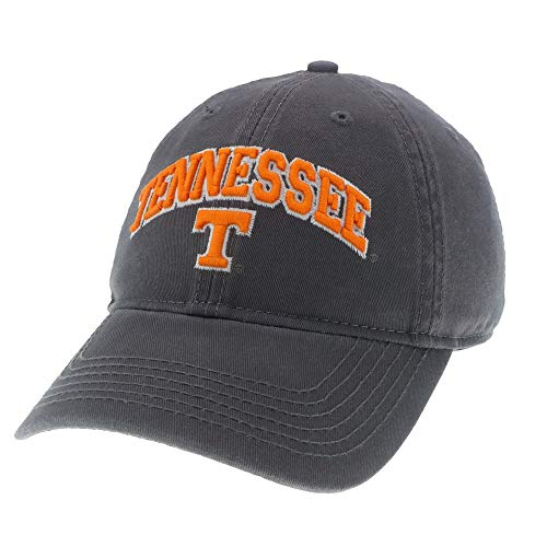 Legacy Athletics Tennessee Volunteers Dark Grey Relaxed Twill Cap - Arched Tennessee ()