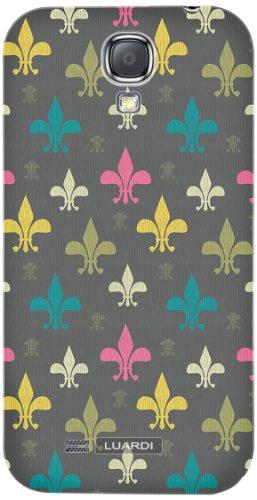 Luardi lsg4bc0006 Snap-On Back Cover for GS4 - Fleur De Lis - Retail Packaging - Multi
