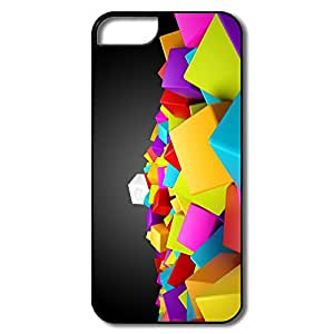 Colors Blocks Type For Custom Iphone 5 5S