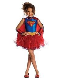 Rubies Costume Co Justice League Child's Supergirl Tutu Dress, Medium