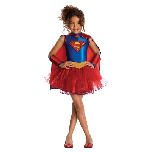 Rubie's Justice League Child's Supergirl Tutu Dress