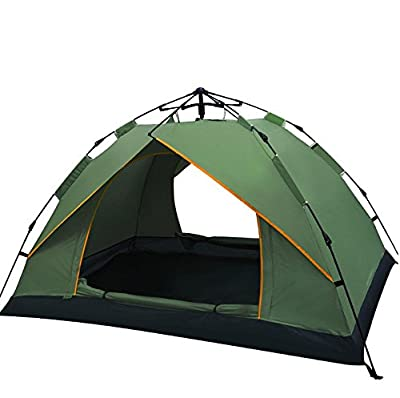 Toogh Waterproof 3 Season Tent for Camping/2-3 Person Camping Tent/Backpacking Tents(Sky blue,Light green ,Orange red and Dark green color options )