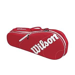 Wilson Advantage II Triple Bag, Black/White