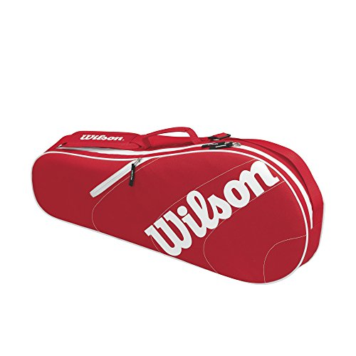 Wilson Advantage II Triple Bag - Red/White