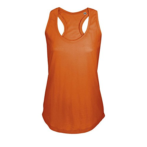 Oxidized Moka Orange maniche Model senza shirt Sols For T Woman Apwx8IHx