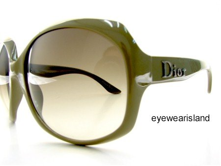 65384531497f New CHRISTIAN DIOR GLOSSY 1 GLOSSY1 N5D02 SUNGLASSES Brown Gradient ...