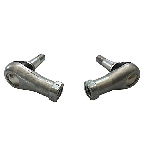 Ball Joint Kit,Set of (2) Tie Rod End Fits for EZGO TXT Golf Cart Electric & Gas CARTS 2001 + UP 70902-G01and70902-G02