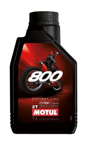 Motul 800-2t Off-Road 100% Synthetic Premix 1 Liter