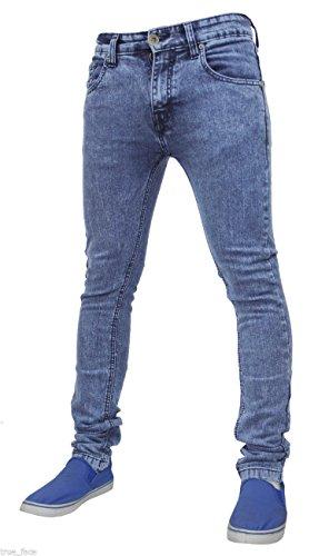 para ajustado Pantalón Tf021 Face hombre True elástico Blue Mid v1wqwTxznE