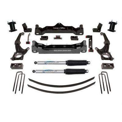 Pro Comp Suspension K5089BP Lift Kit 6 in. Lift Front Strut Spacer Rear Pro Runner Shocks Steering Knuckles Lift Blocks w/Add-A-Leaf U-Bolts Crossmembers Diff. Drop Brackets Sway Bar Drop Lift Kit