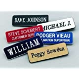 Name Badges | Name Tags | Magnetic or Pin Closure Included