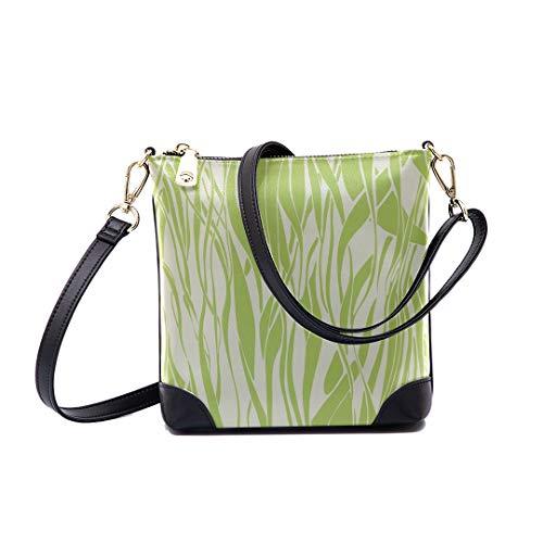 Shoulder Bag Beautiful Wave Pattern Pastel For Women Bucket Crossbody
