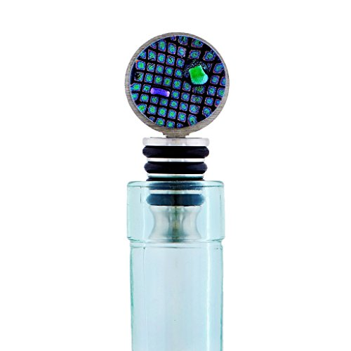 Display Ready Glass Wine Stopper - 100% Made in the USA - Ideal for Fine Liquor Bottles - Gift Boxed
