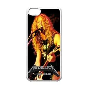 Metallica James Hetfield iPhone 5c Cell Phone Case White Delicate gift JIS_261852