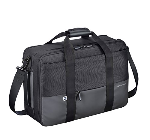 Zero Halliburton Gramercy-Large 3way Shoulder Bag, Black, One Size by ZERO Halliburton