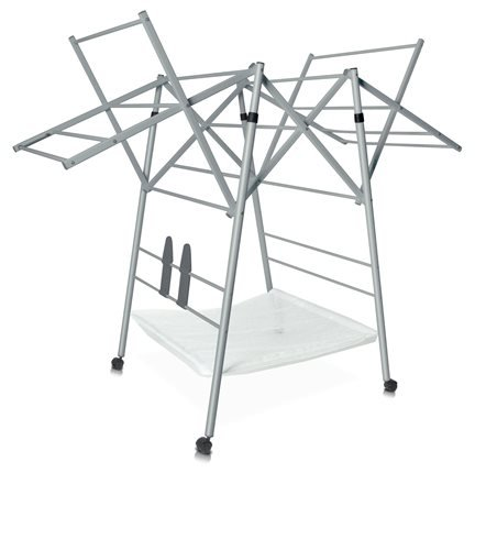 hyfive clothes airer drying rack extra large 3 tier. Black Bedroom Furniture Sets. Home Design Ideas