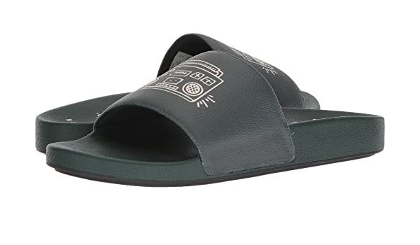 0ab297682be8 Coach Men s Keith Haring Boombox Slide Emerald 12 D US  Amazon.ca  Shoes    Handbags