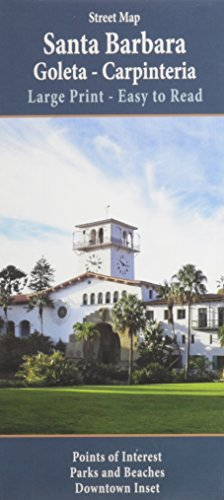 Santa Barbara Large Print (Santa Barbara California)