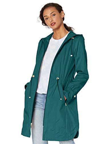 Cole Haan womens Hooded Anorack Rain Coat