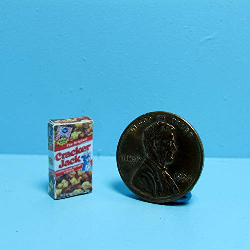 Dollhouse & Miniature Replica Box of Cracker Jacks ~ G022