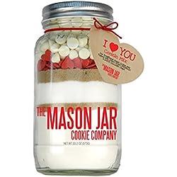 The Mason Jar Cookie Company Cookie Mix, I Love You, 20.2 Ounce