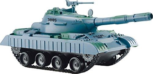 連結可動式 キャタピラ R/C BATTLE TANKラジコン 戦車 おもちゃ 子供 (3885ブルー)