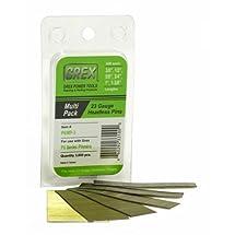 GREX P6/MP-3 23 Gauge Multi-Pack Headless Pins (3,000 per box)