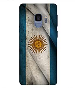 ColorKing Football Argentina 19 Multi Color shell case cover for samsung S9