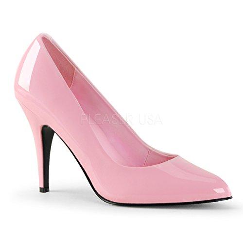 - Pleaser Women's Vanity Pump,Baby Pink Patent,10 M US