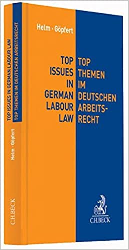 Top Issues In German Labour Law Deutschenglisch Germanenglish