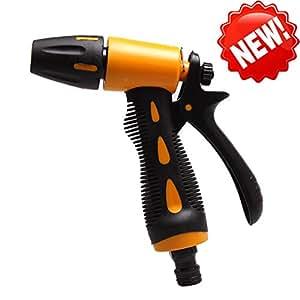 lopkey limpiador a presión manguera de boquillas grandes boquillas para riego césped y jardín, Car Wash