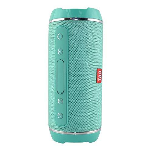 AckfulTG 116 Portable Bluetooth Wireless Speaker Player USB Radio Fm Mp3 Stereo Music Sweatproof Outdoor Indoor Handsfree (A) (Fm Plus Usb Player)
