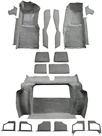 ACC 1980 Corvette Carpet Replacement Fits: Complete Complete Cutpile Factory Fit
