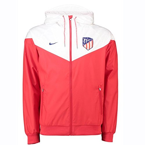 (Nike 2018-2019 Atletico Madrid Authentic Windrunner Jacket (Red))