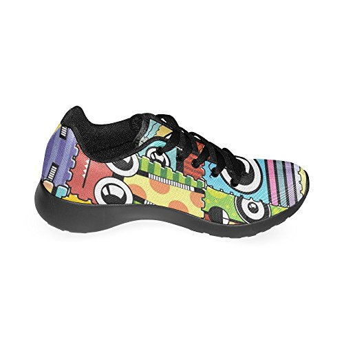 InterestPrint Womens Jogging Running Sneaker Lightweight Go Easy Walking Comfort Sports Athletic Shoes mE6xvHzGB