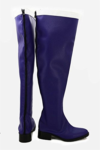 Bromeo Fairy Tail Erza Scarlet Cosplay Chaussure Bottes Boots