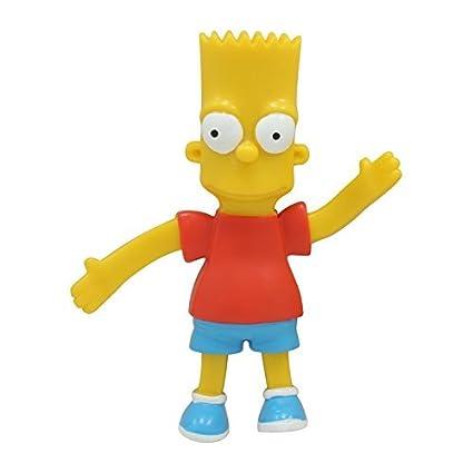 Amazon.com: The Simpsons, Bart, Bendable Poseable Figure ...