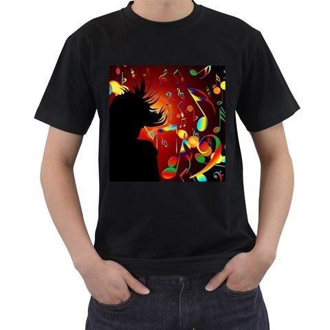 Superman Costume Mark (Black America T-shirt, Funny Gift Shirt for Men)