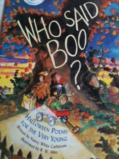 (Who said boo?: Halloween poems for the very)