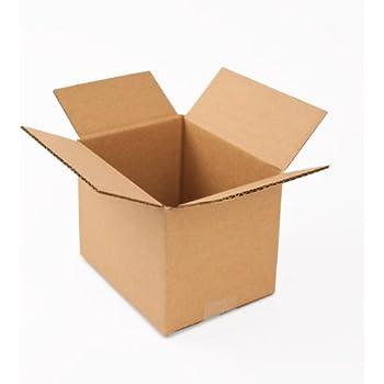 Pratt PRA0017 100PK 100% Recycled Corrugated Cardboard Box 8  Length x 6   sc 1 st  Amazon.com & Amazon.com: Aviditi 886W Corrugated Box 8