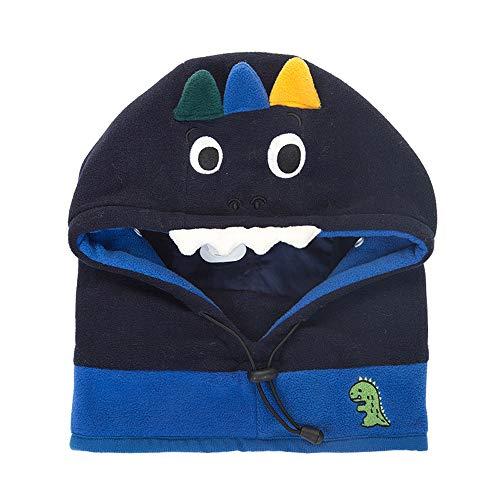9aa8041499b Xinqiao Baby Girls Boys Winter Hat Earflap Mask Hood Scarf Skull Cartoon  Caps
