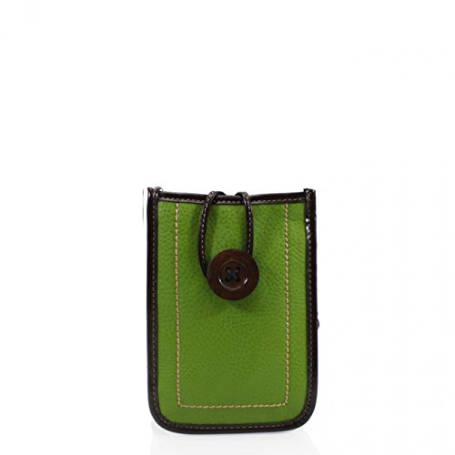 Bags 828 Bag Uni Brown Button LeahWard Phone Across Phone Body Women's Small Button Men's Phone LeahWard Case Bag Green Bag Sex O7qwPnYzz